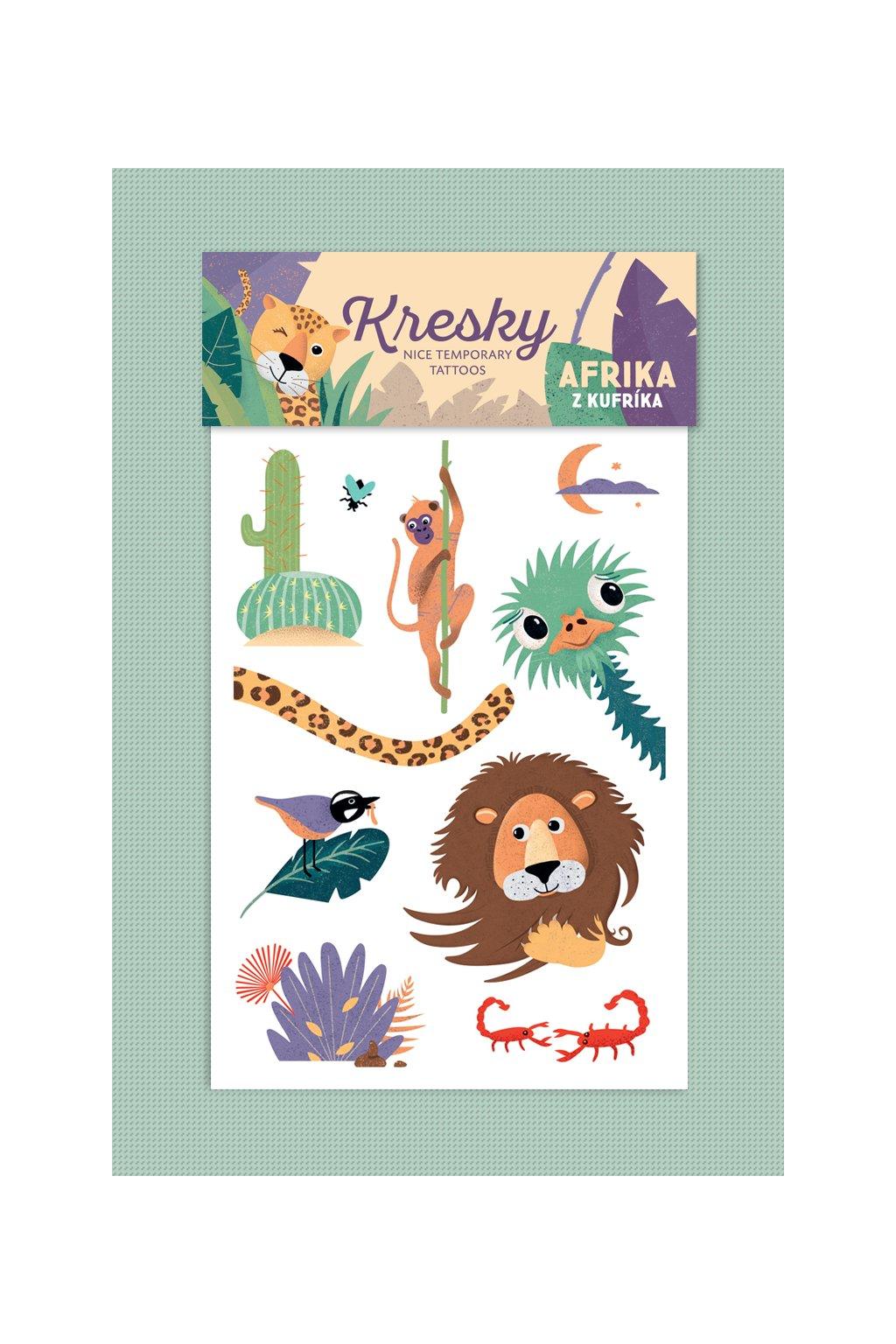 46 Kresky Afrika z kufrika produkt