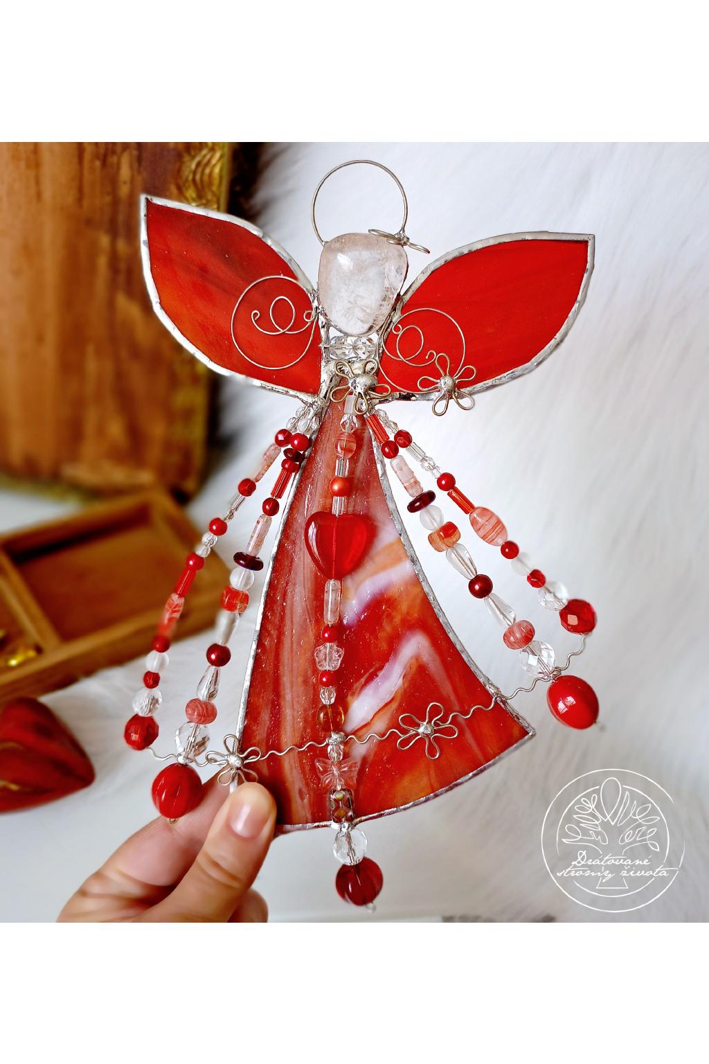 Andělská vitráž - Života budič 20cmprojn 016