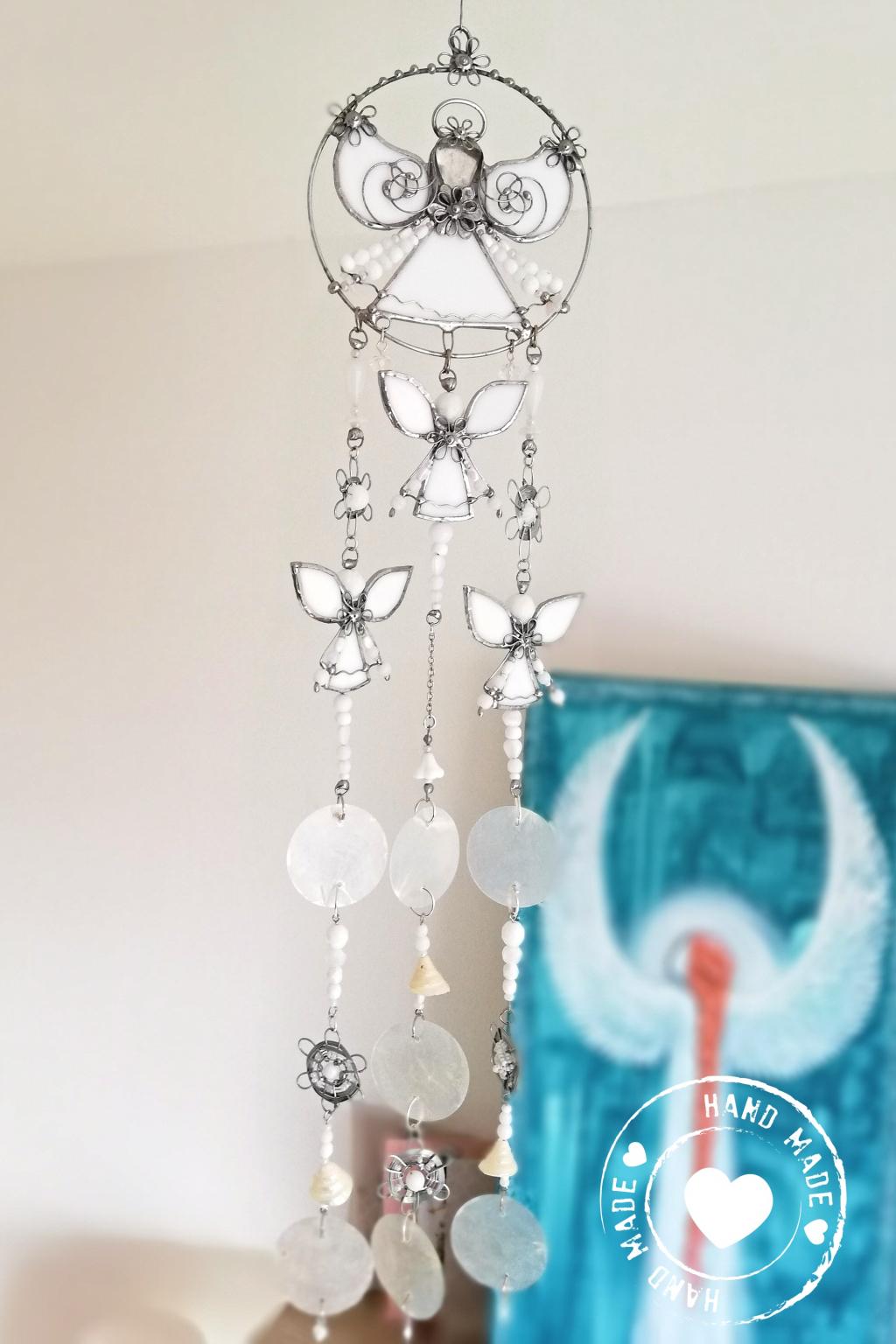 Andělská zvonkohra Tiffany Nové začátky 50cm