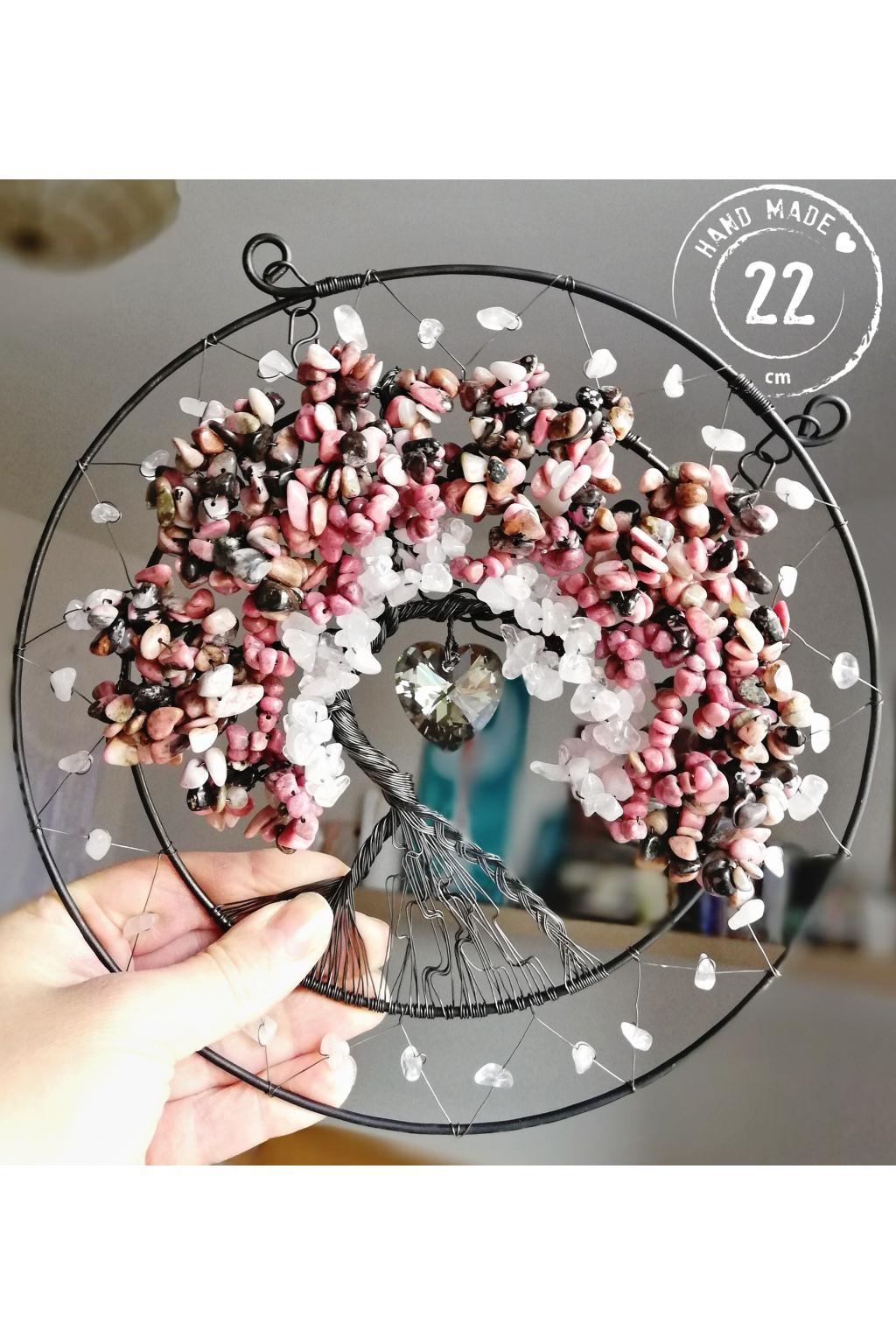 Strom života Polodrahokamy Vnímám lásku 22cm