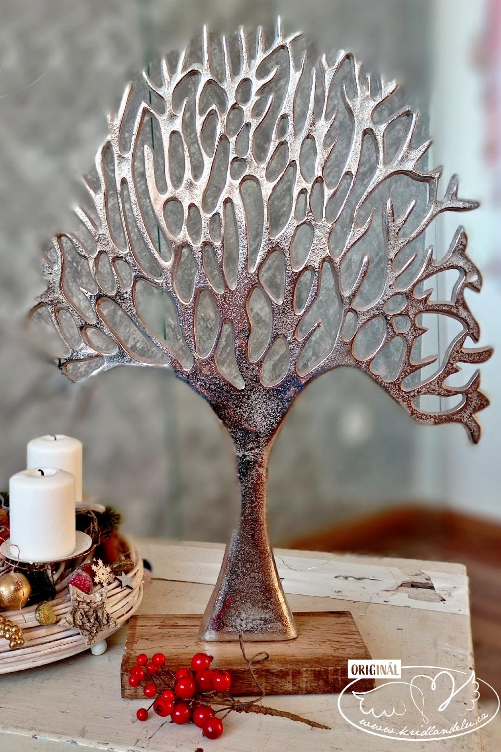 Strom života - kovová dekorace 53cm