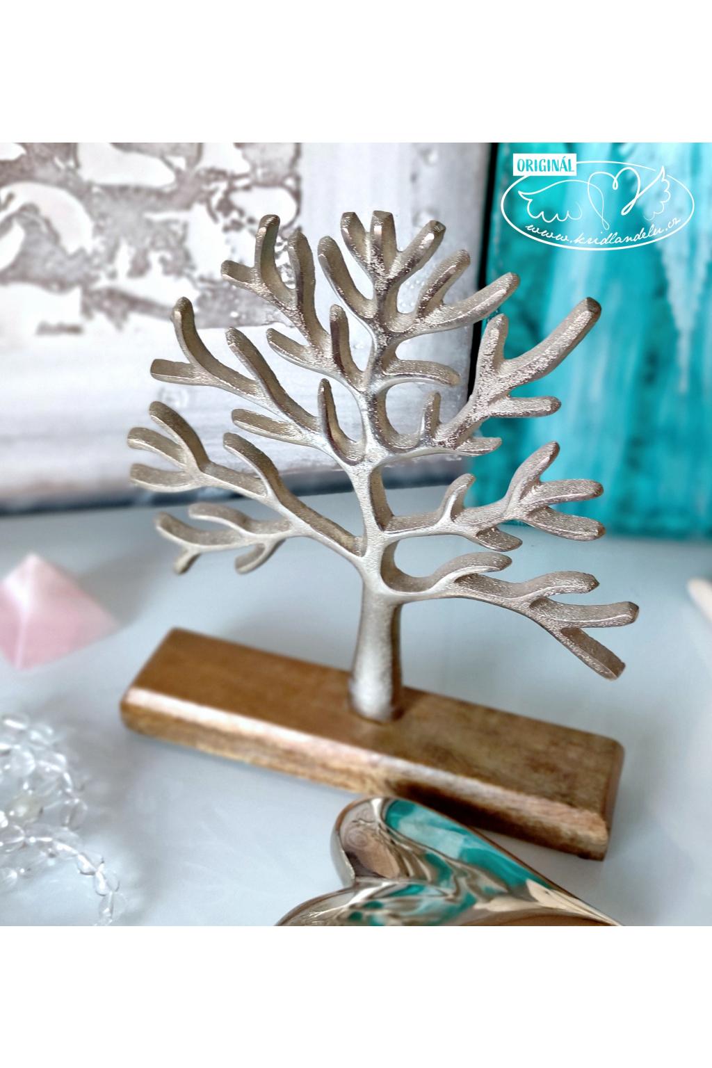 Strom života - kovová dekorace 26cm