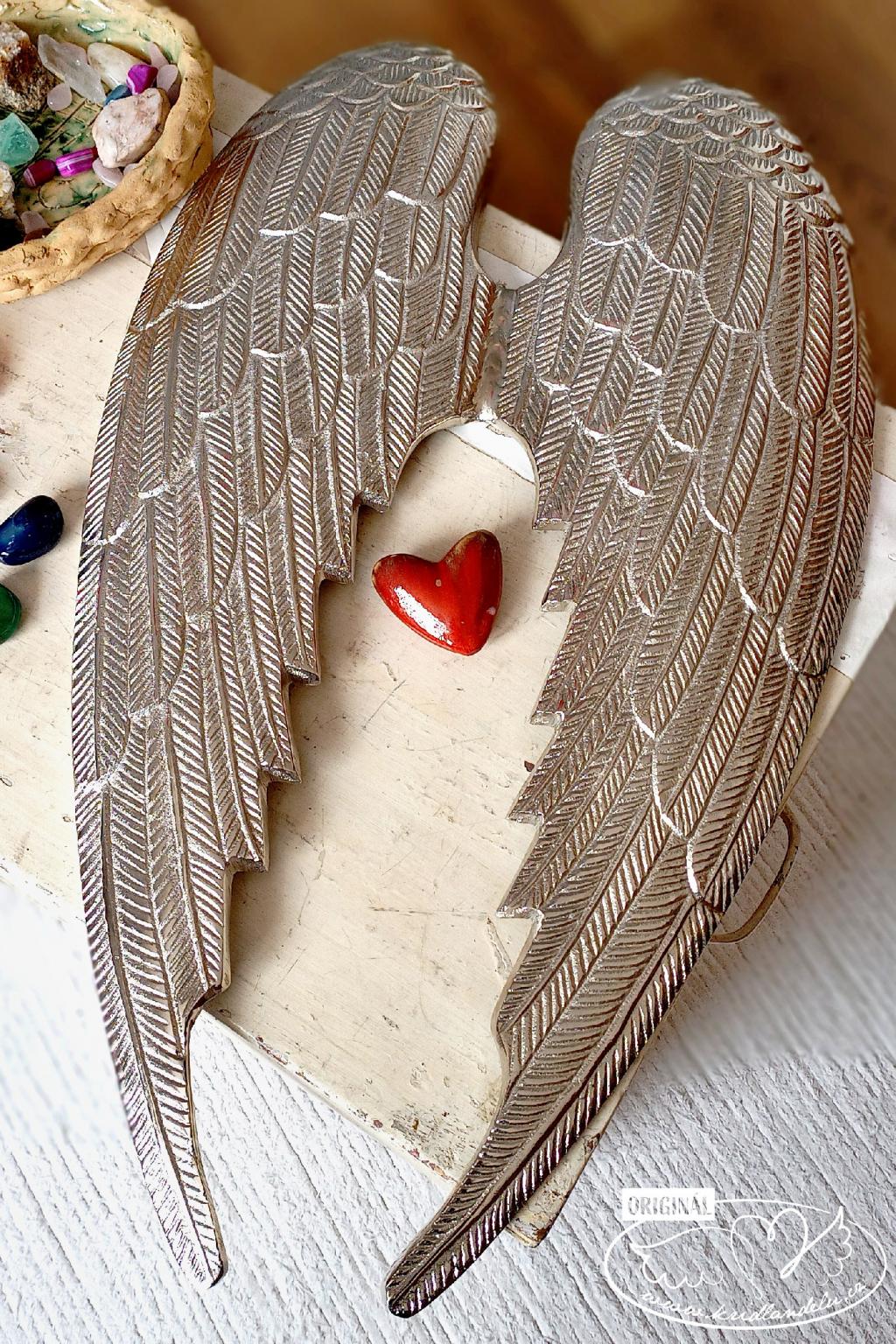 Andělská křídla  - Váš anděl strážný 60x45cm