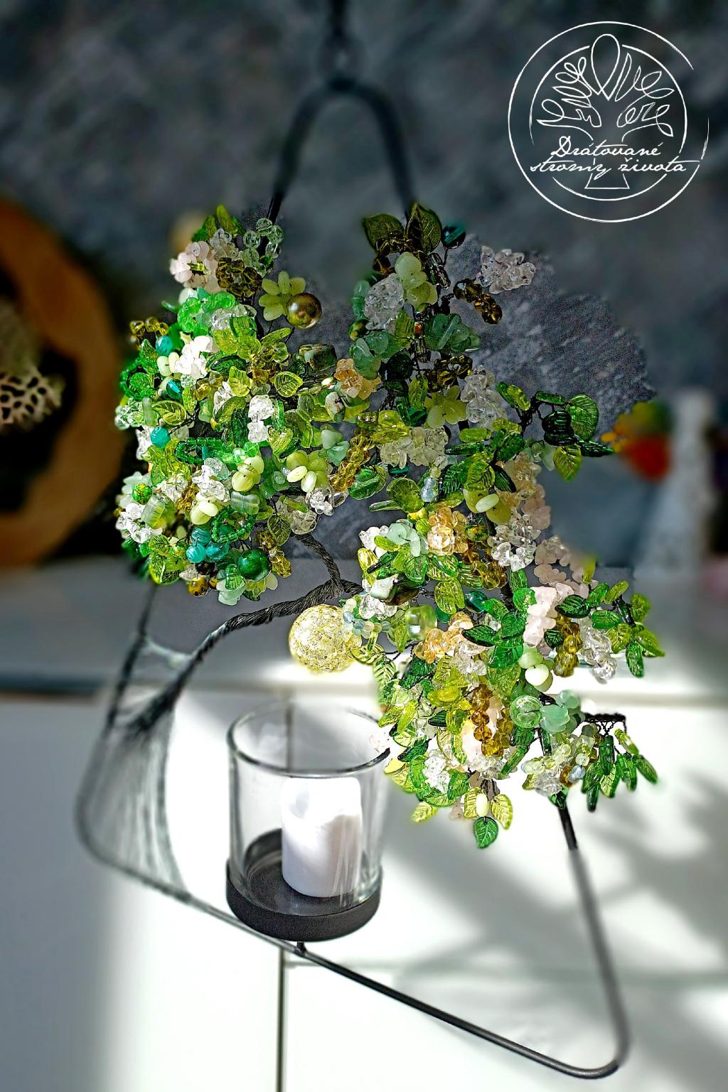 Strom života Nové počátky a regenerace 40x30cm