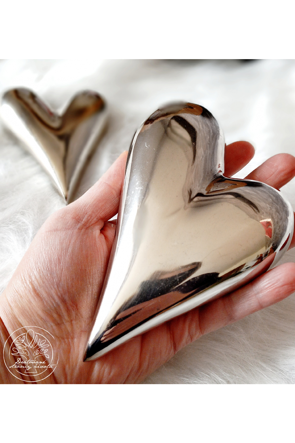 Srdce - Láska na dlani  15cm