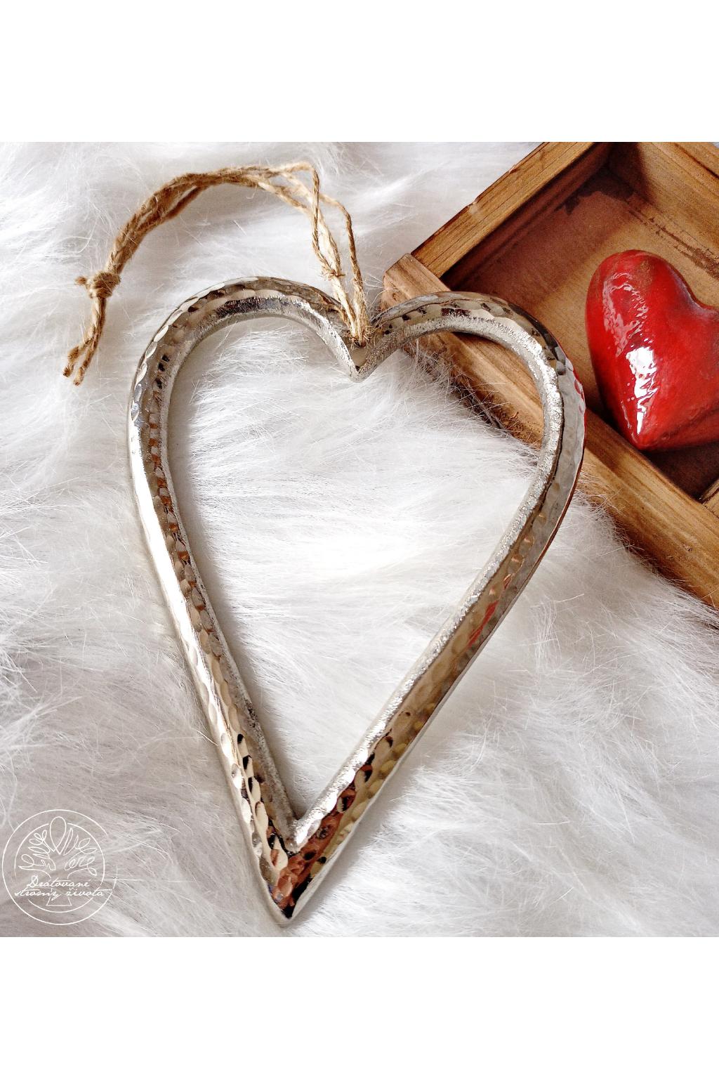 Srdce - Laskavost a cit  17cm