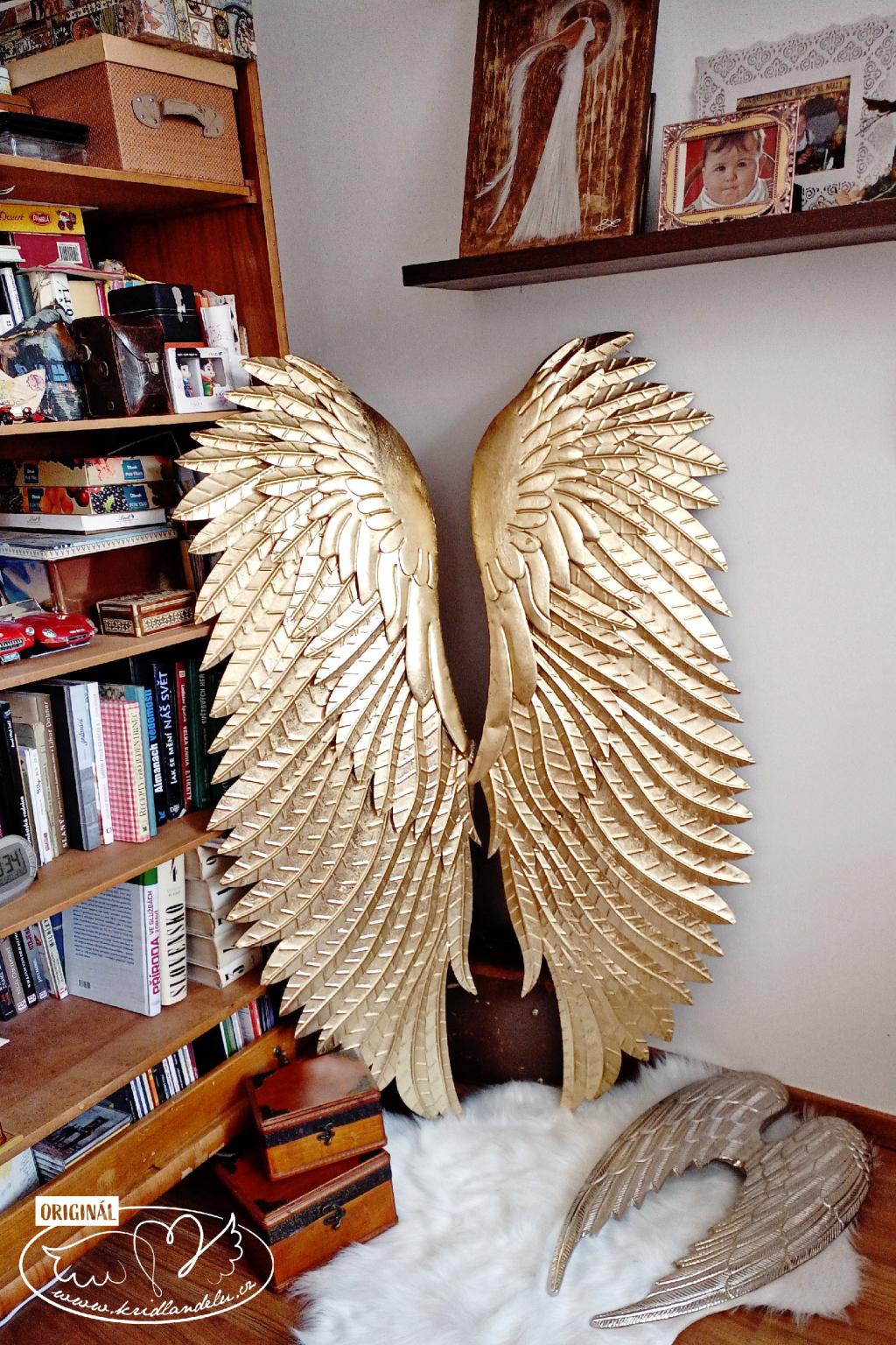 Andělská křídla - Archanděl Muriel 140x100cm