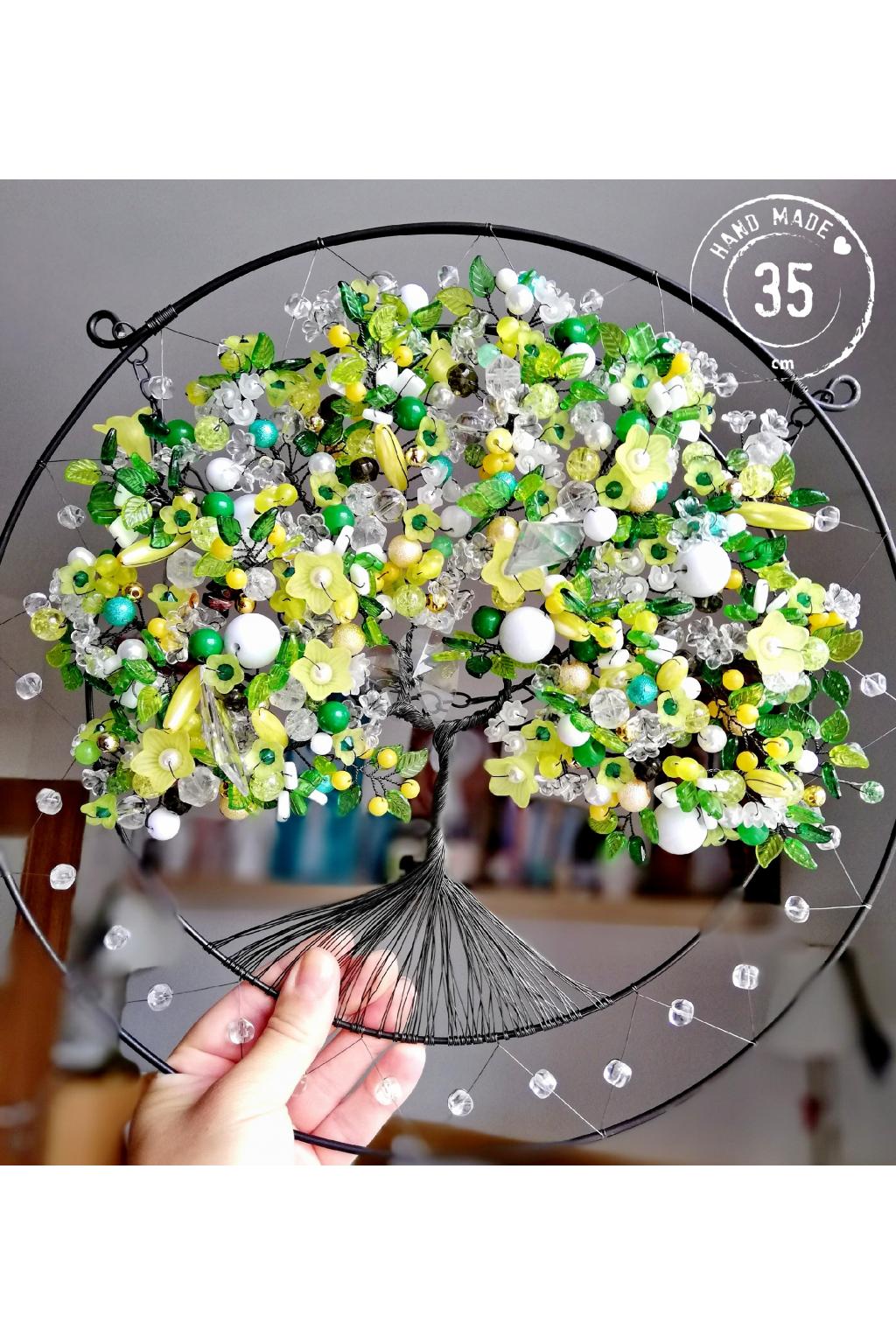 Drátovaný strom - Uzdravím tě 35cm