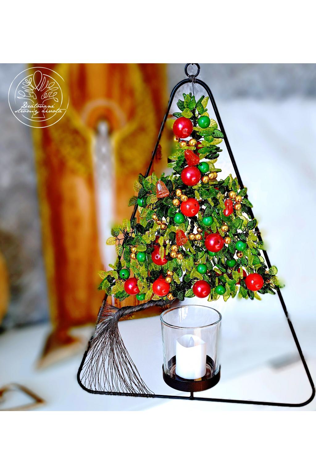 Strom života Vánoční čas 40x30cm