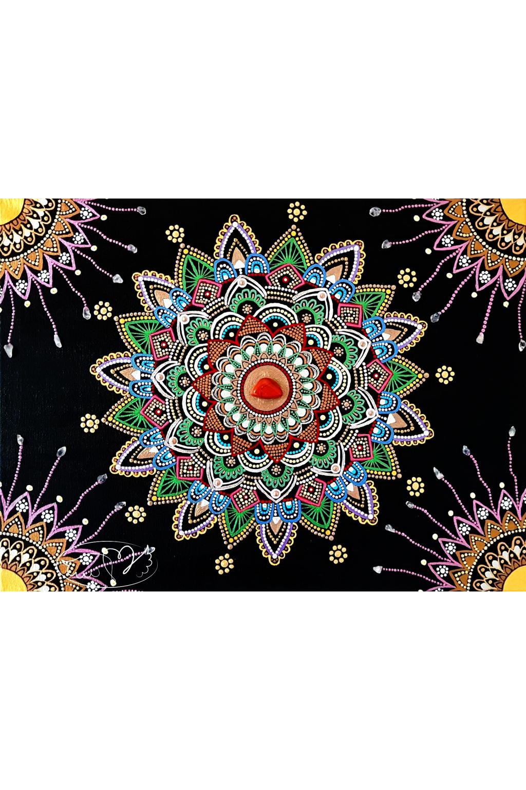 Mandala - Sebeláska a sebepřijetí 30x40cm60440361 484324882142729 2496811205247631360 o