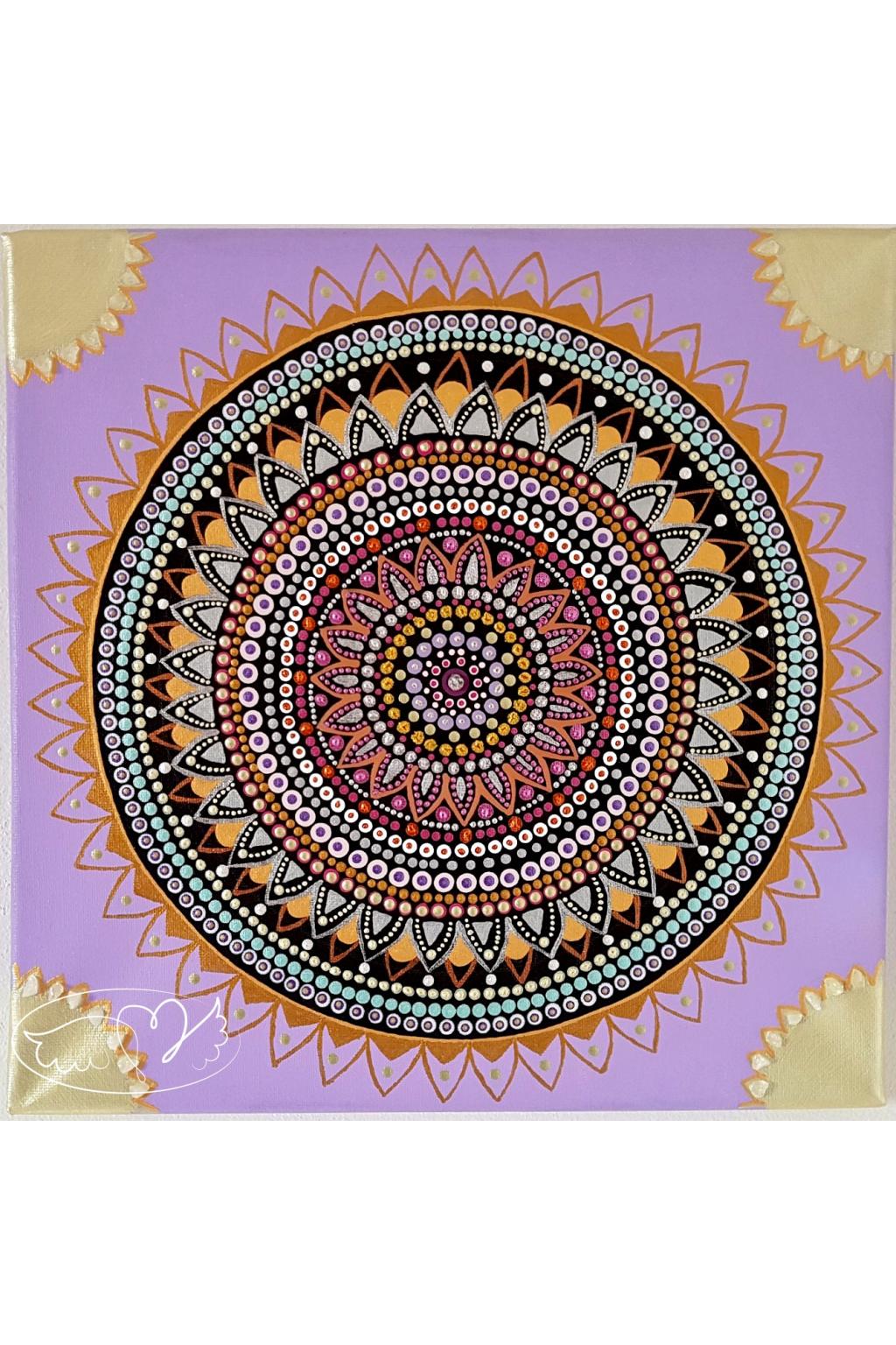 Mandala - Životní poslání 30x30cm53072443 448425715732646 4436108391022067712 o