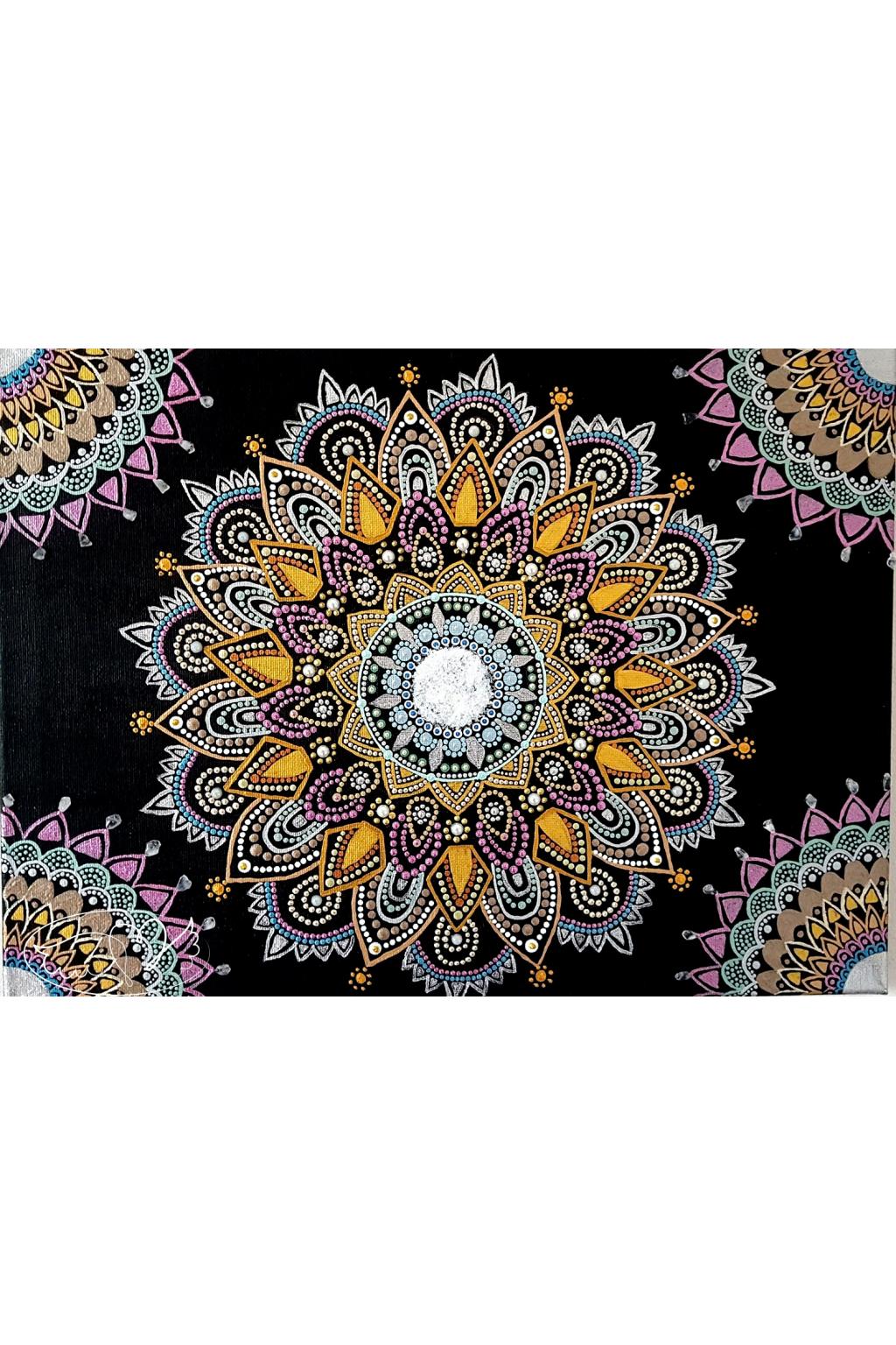 Mandala - Znovuzrození v lásce 30x40cm61822278 598252124030246 7888722253976698880 n