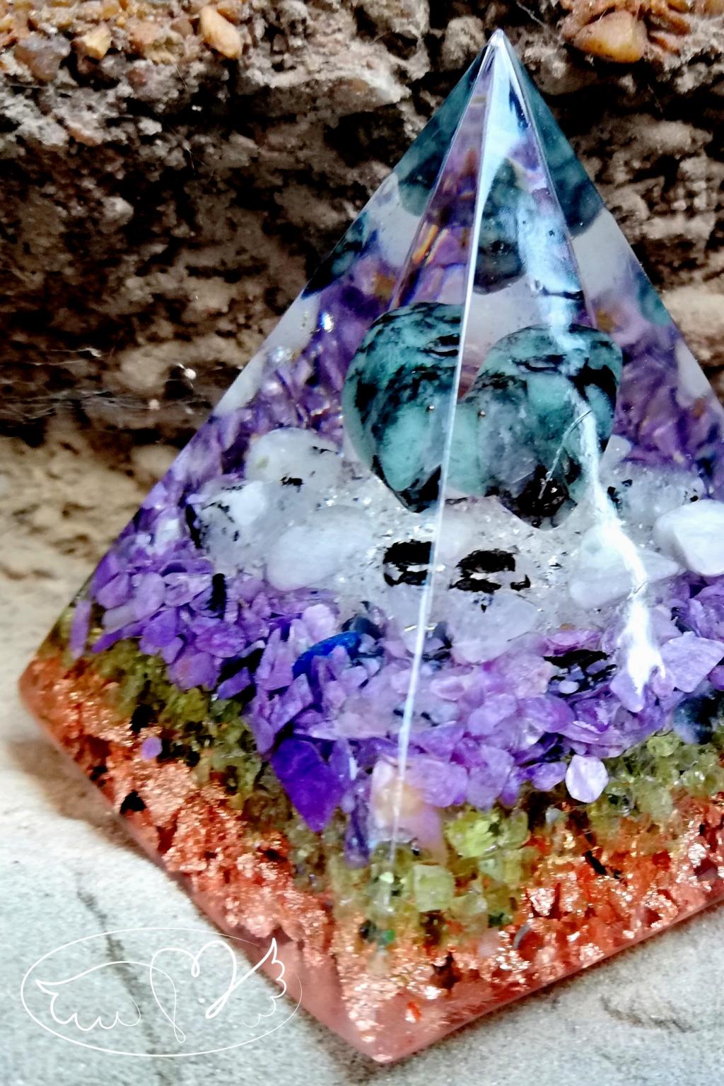 Orgonitová pyramida - Léčím tvé srdce