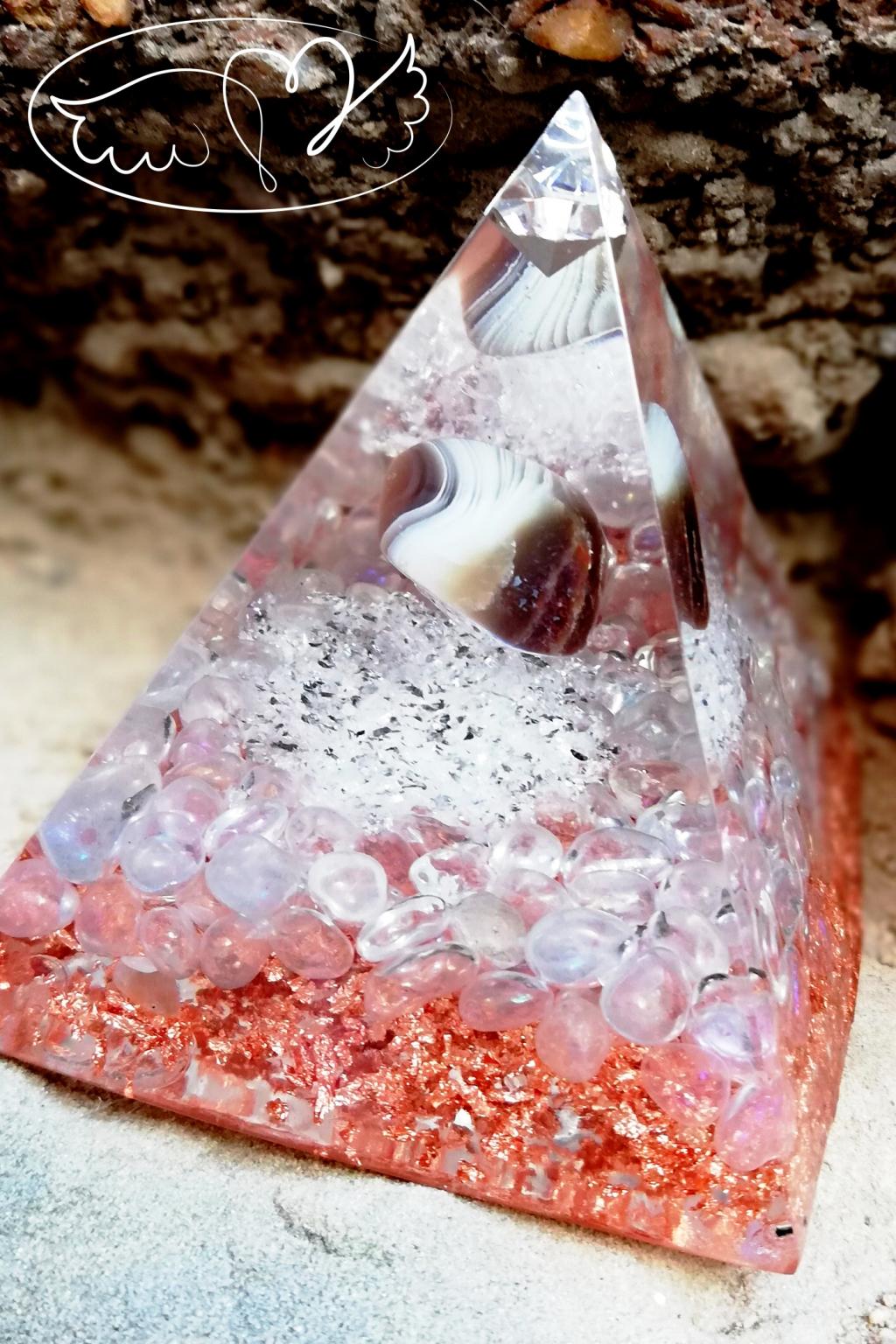 Orgonitová pyramida - Čistím tvou Auru