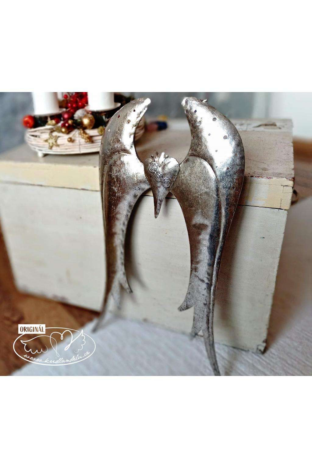 Andělská křídla  - Andělské perutě z kovu 47,5cm
