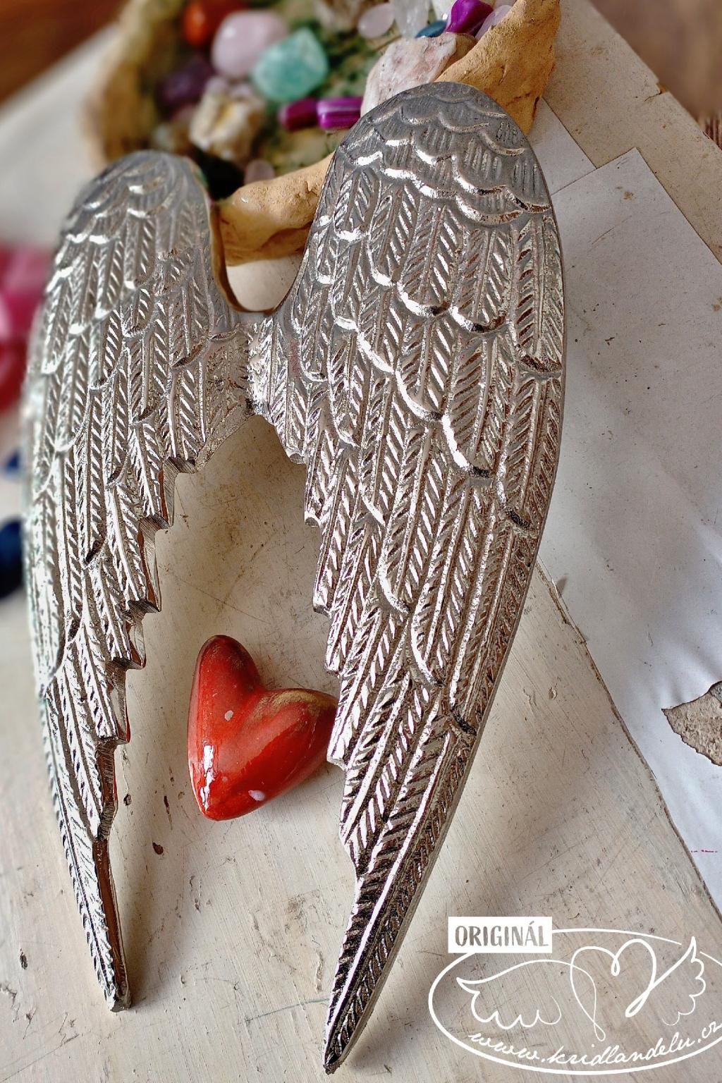 Andělská křídla  - Váš anděl strážný 32cm