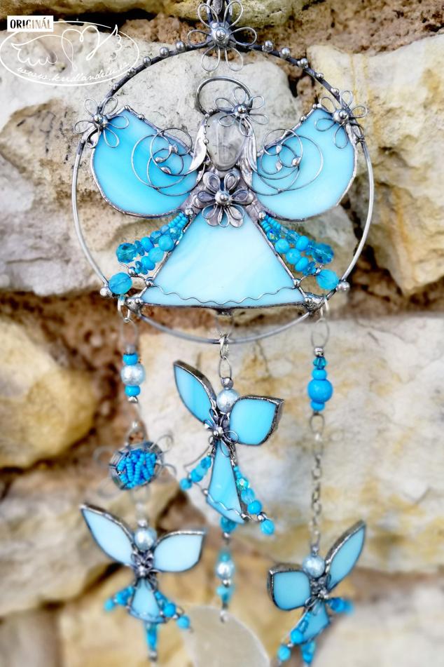 Andělská zvonkohra Tiffany Mé pravé JÁ 50cm