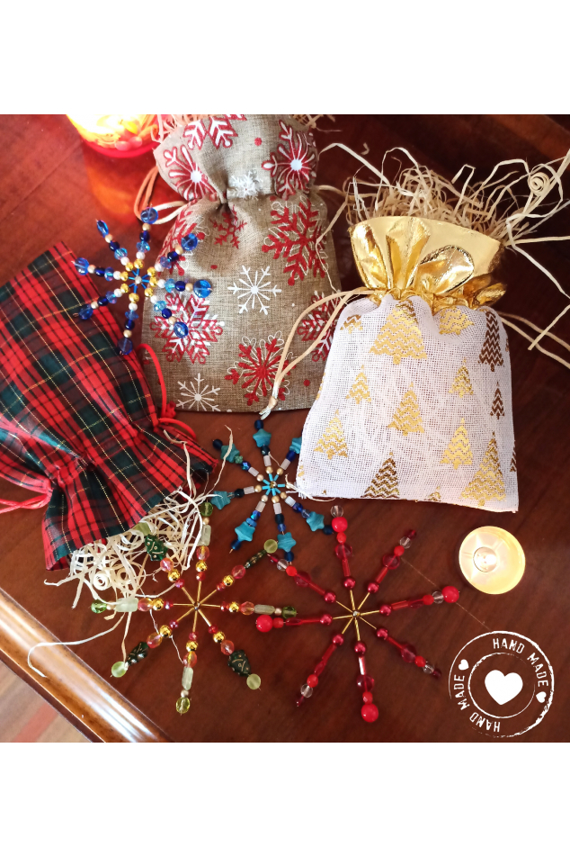 Drátovaná Stavebnice Mini - Vánoční Hvězda 2ks