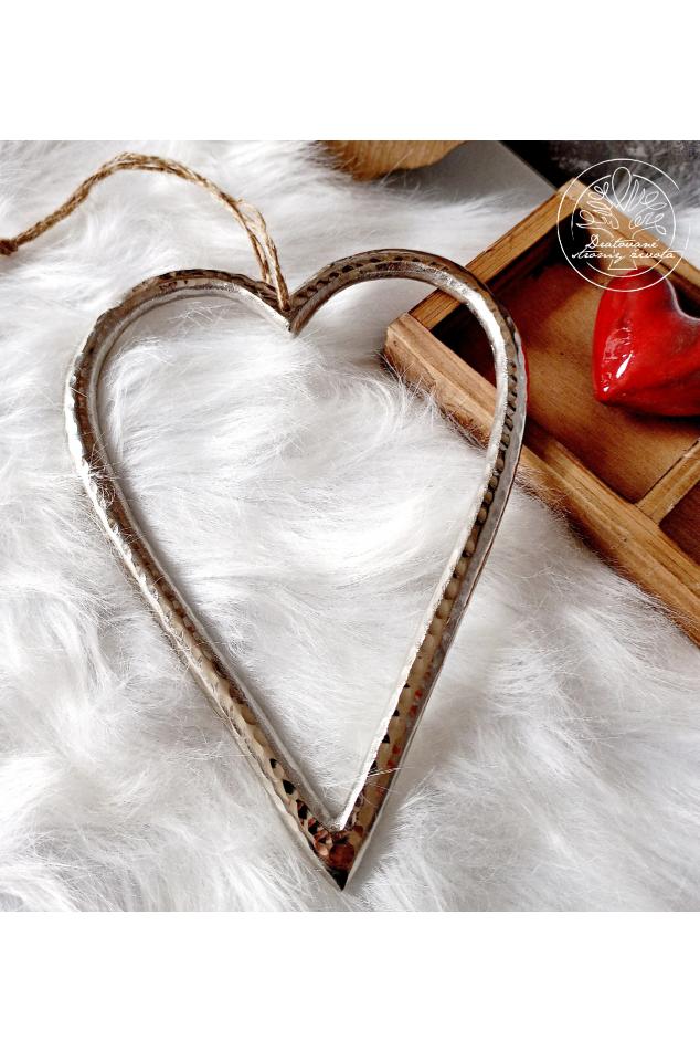 Srdce - Laskavost a cit  22cm