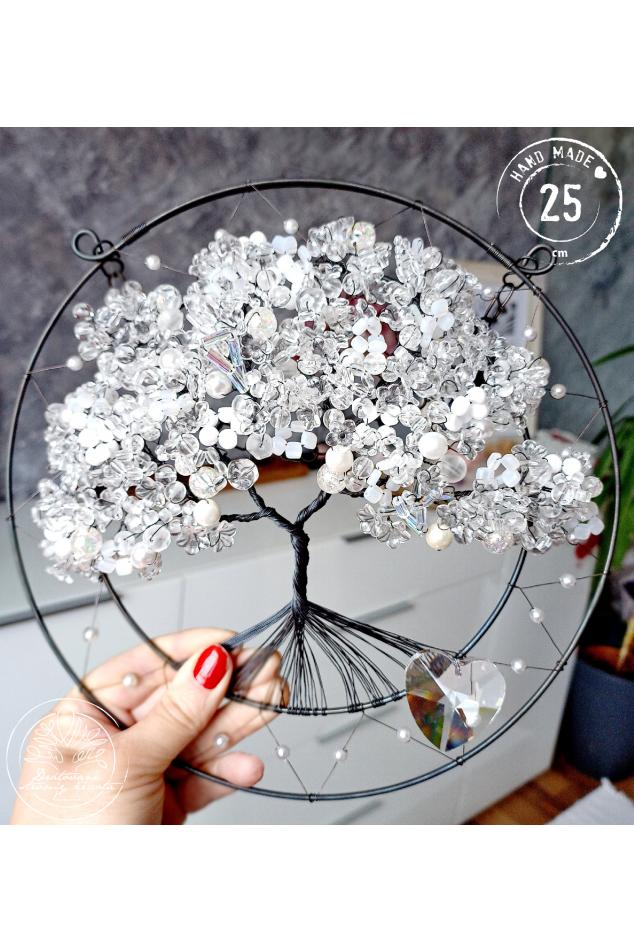 Strom života Křišťálový léčitel 25cm