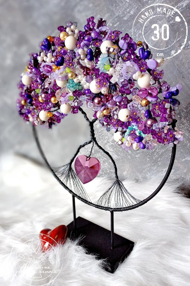 Strom života na stojánku - Spojení s podvědomím 30x40cm