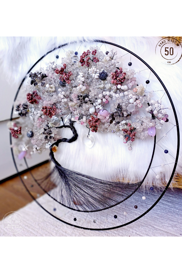 Strom života Polodrahokamy Strom života  Ať máš vždy pevnou půdu pod nohama 50cm