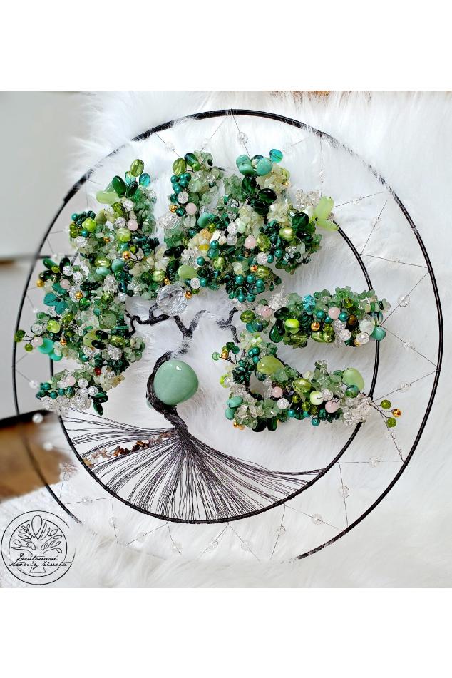 Strom života  Polodrahokamy Hýčkám tvoje srdce 45cm