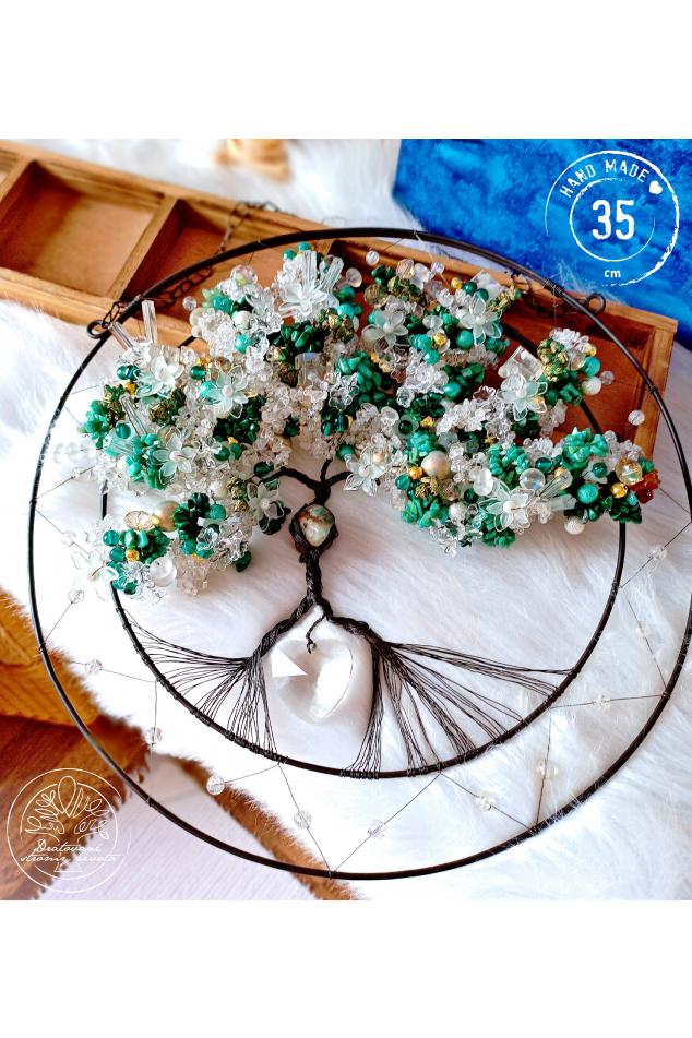 Strom života Polodrahokamy Hýčkám tvoje srdce 35cm