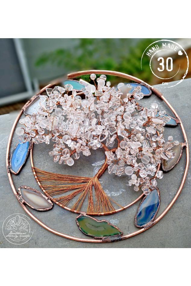 Strom života Tiffany - Jdi beze strachu dál 30cm