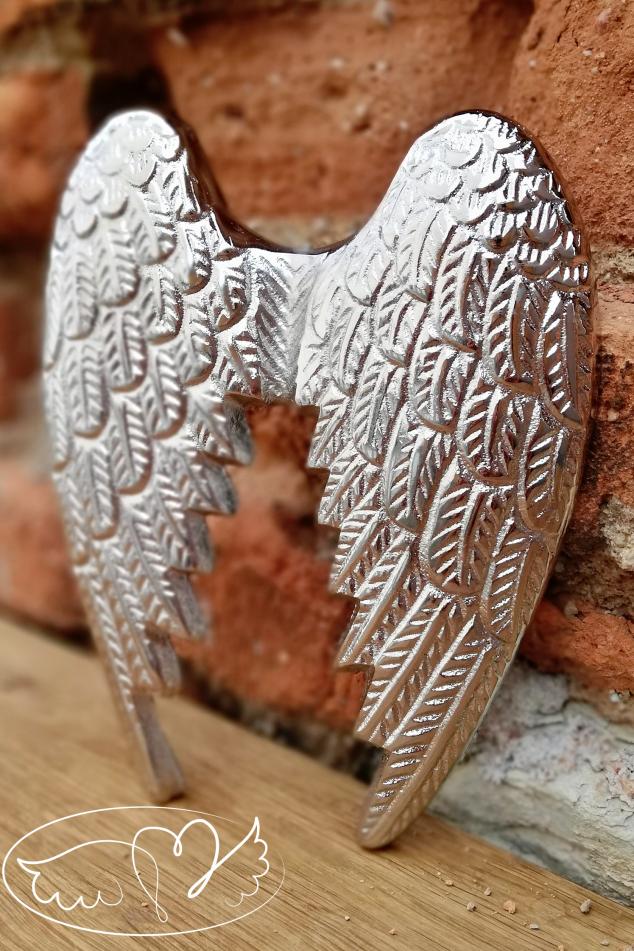 Andělská křídla  - Váš anděl strážný 19cm