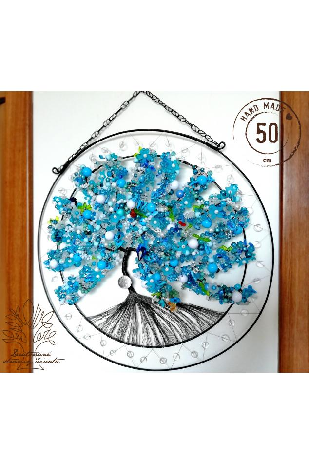Drátovaný strom - Úplněk 50cm