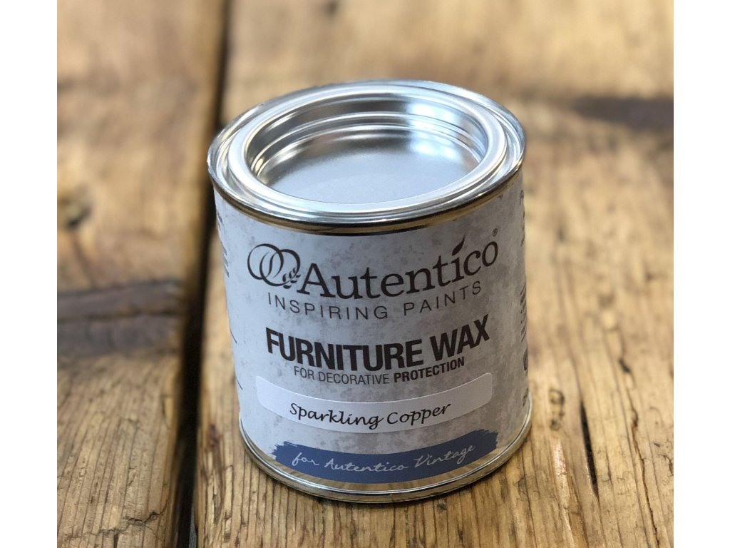 wax sparkling copper