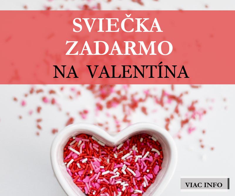Valentín s Kringle Candle