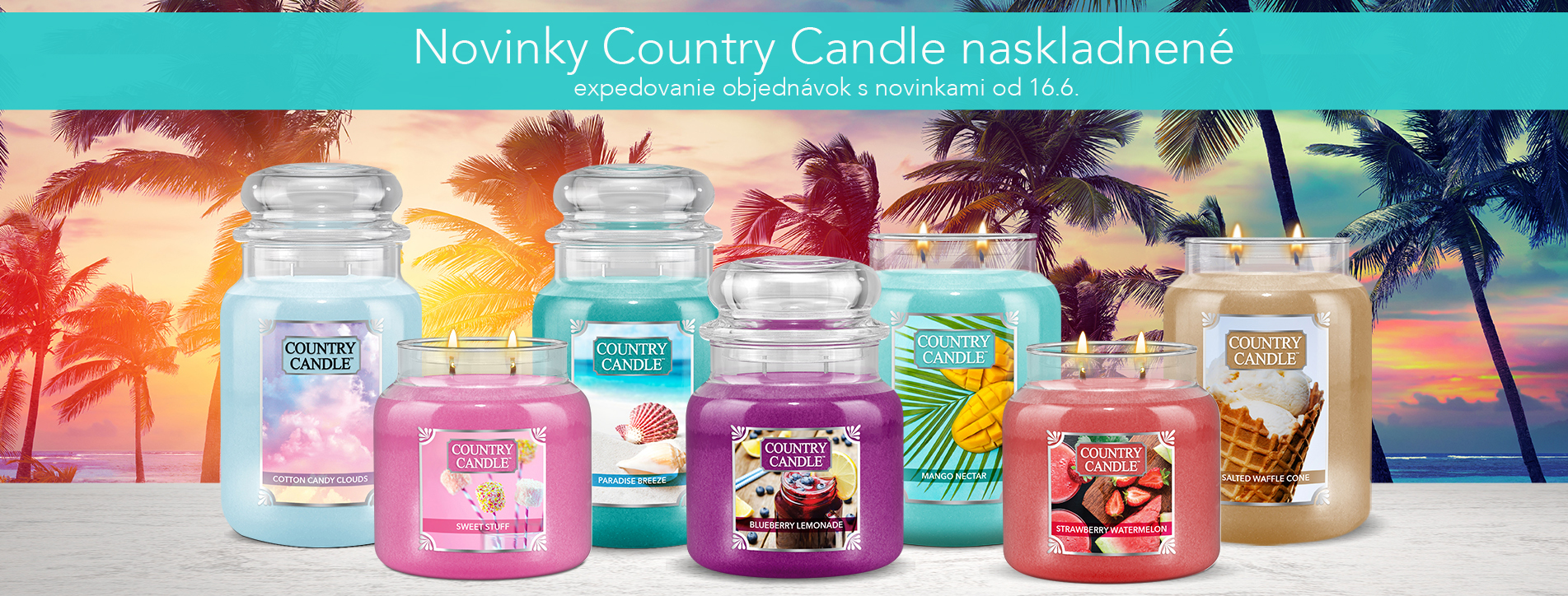 Novinky Country Candle