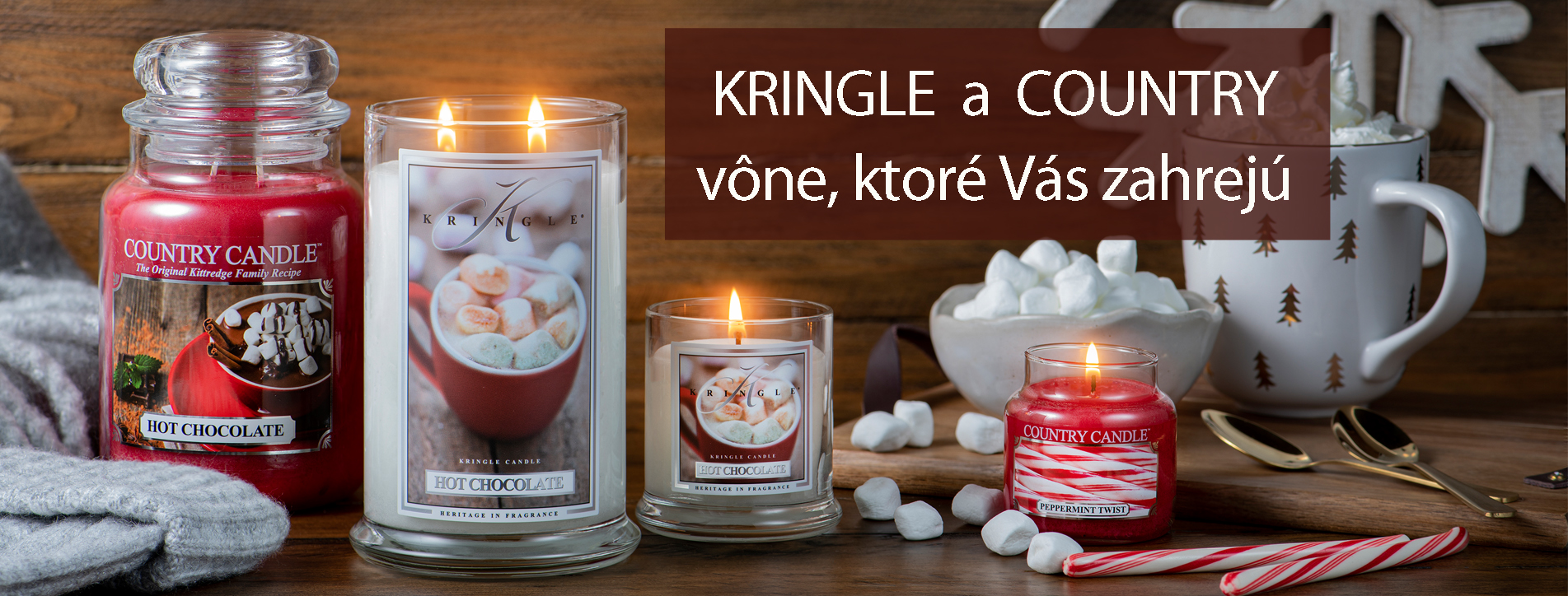 KRINGLE & COUNTRY CANDLE