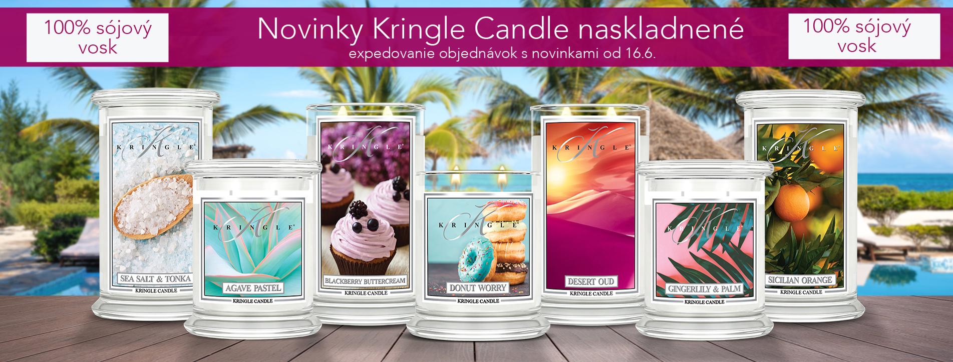 Novinky Kringle Candle
