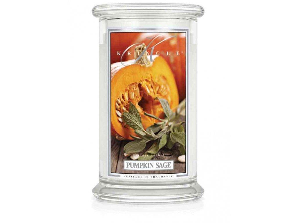 22oz large jar pumpkin sage