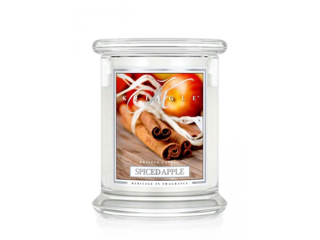 Kringle Candle Spiced Apple vonná sviečka stredná 2-knôtová (411 g)