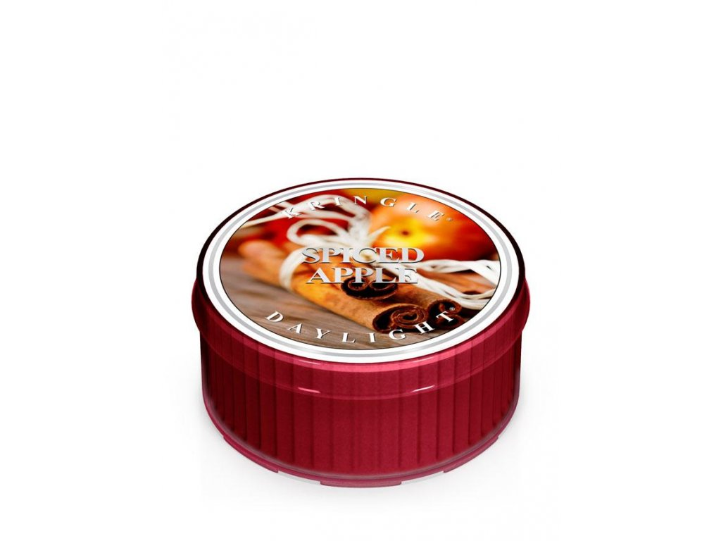 Kringle Candle Spiced Apple vonná sviečka (35 g)