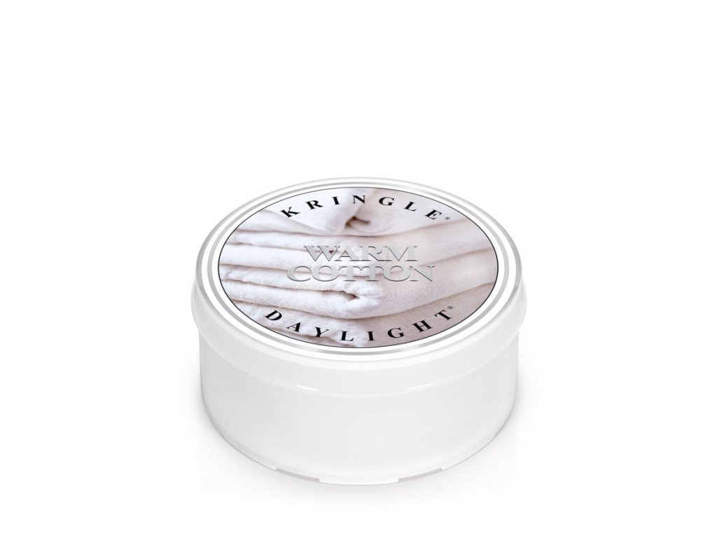 Kringle Candle Warm Cotton vonná sviečka (35 g)