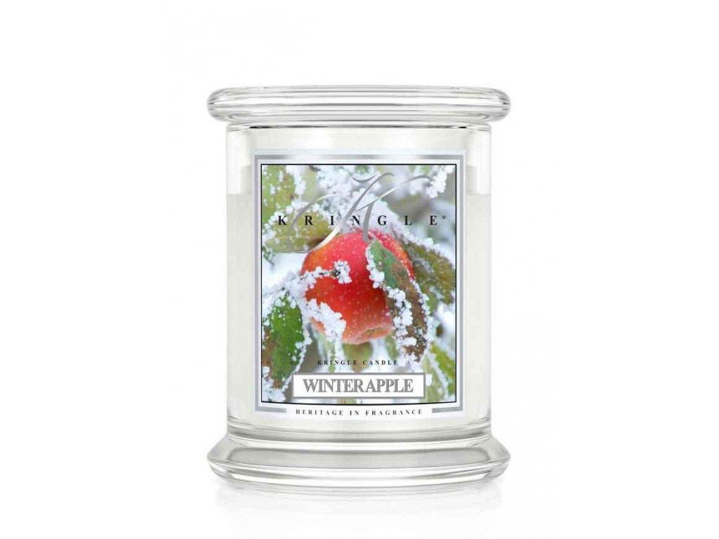 Kringle Candle Winter Apple vonná sviečka stredná 2-knôtová (411 g)