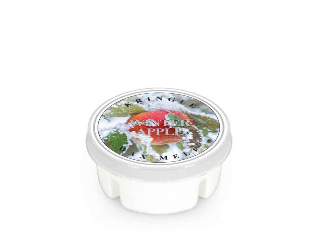 Kringle Candle Winter Apple vonný vosk (35 g)