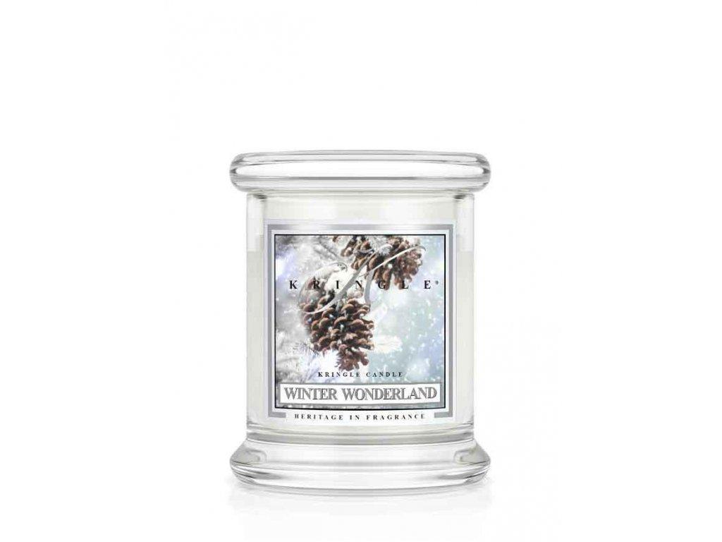 Kringle Candle Winter Wonderland vonná sviečka mini 1-knôtová (127 g)