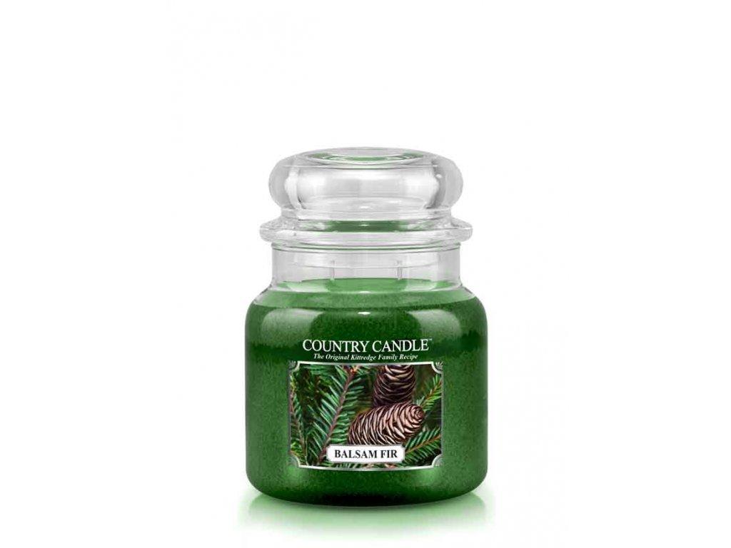 COUNTRY CANDLE Balsam Fir vonná sviečka stredná 2-knôtová (453 g)