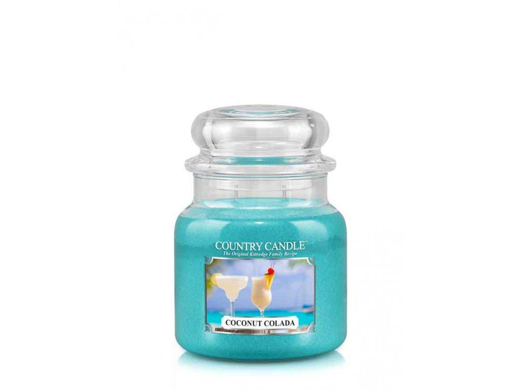 COUNTRY CANDLE Coconut Colada vonná sviečka stredná 2-knôtová (453 g)