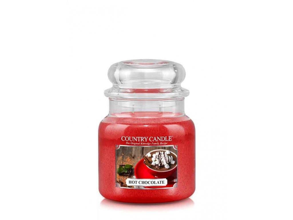 COUNTRY CANDLE Hot Chocolate vonná sviečka stredná 2-knôtová (453 g)