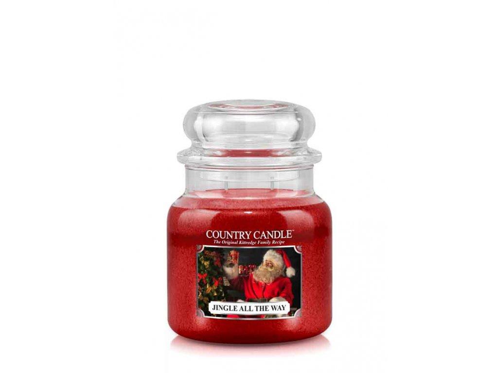 COUNTRY CANDLE Jingle All The Way vonná sviečka stredná 2-knôtová (453 g)