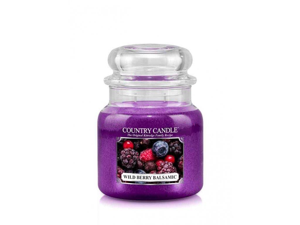 COUNTRY CANDLE Wild Berry Balsamic vonná sviečka stredná 2-knôtová (453 g)