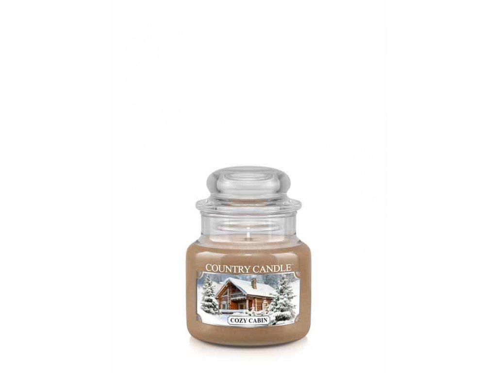 COUNTRY CANDLE Cozy Cabin vonná sviečka mini 1-knôtová (104 g)