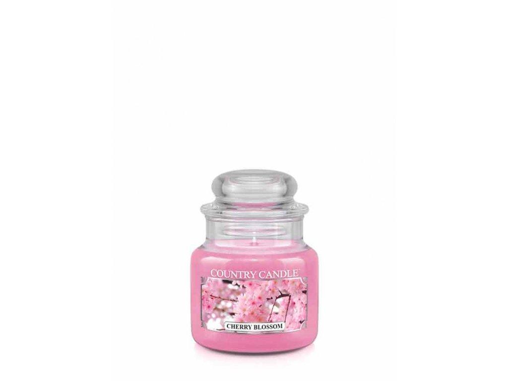 COUNTRY CANDLE Cherry Blossom vonná sviečka mini 1-knôtová (104 g)